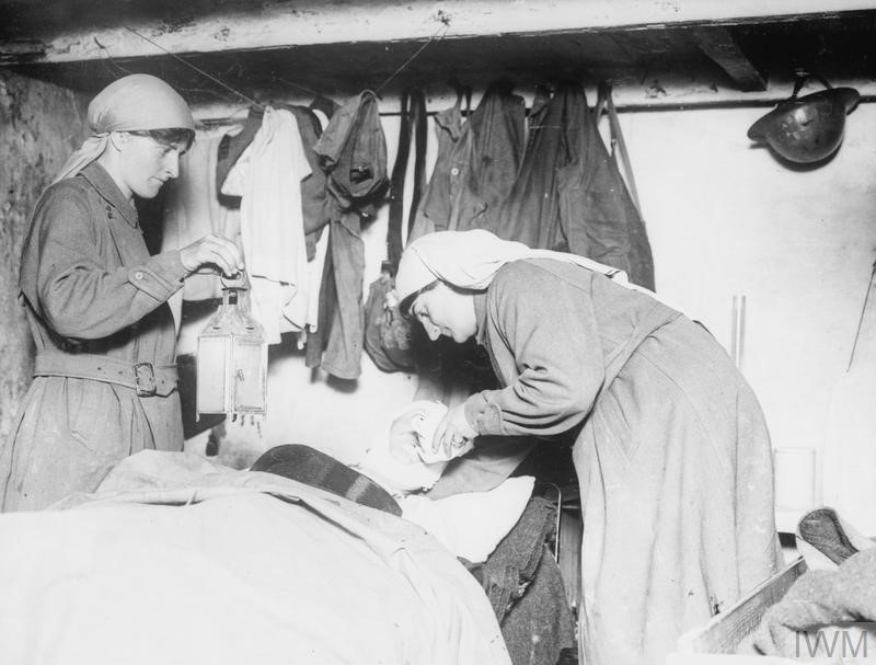 First Aid: Nurses in the RCN, WWI