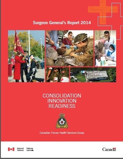 Surgeon General's Report 2014: Consolidation Innovation Readiness