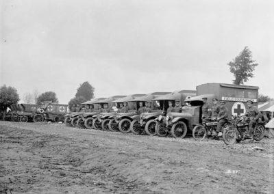 Motor Ambulance, 2nd Canadian Field Ambulance. June, 1916.